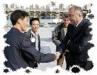 Sosirea chinezilor la Craiova
